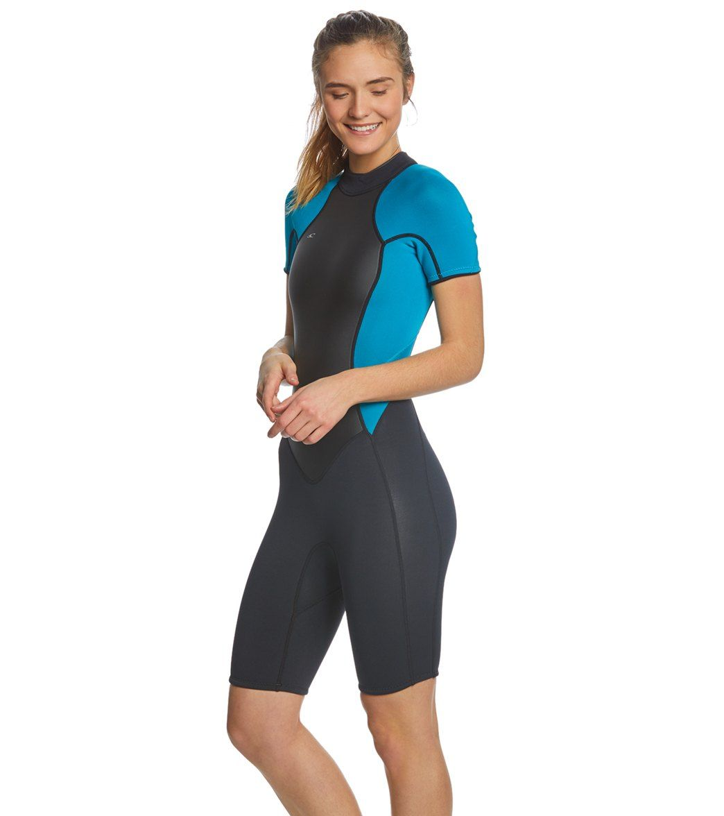 O Neill Women s 2 1MM Bahia Short Sleeve Springsuit Wetsuit at  SwimOutlet.com - Free Shipping fbb517275