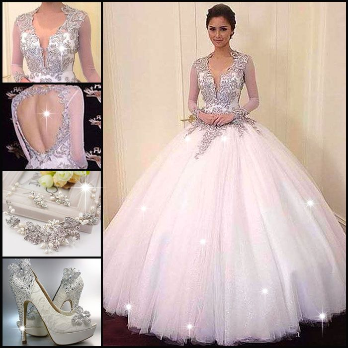 WowWhat A Gorgeous Backless Wedding Dress Find More