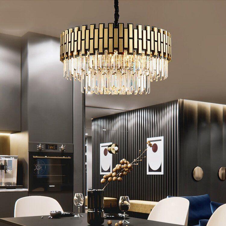 Art Deco Chandelier Eleglam Dining Room Lighting Art Deco Dining Room Round Living Room