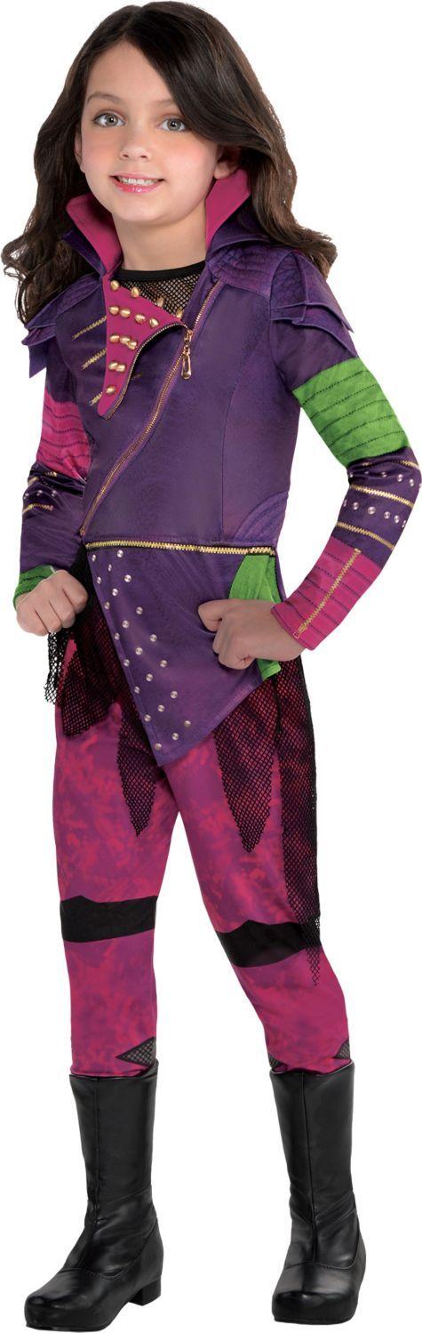 Girls Mal Costume - Disney Descendants | Pinterest | Fiestas, Cumple ...