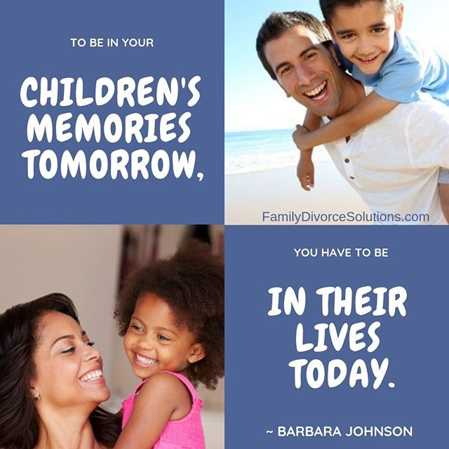 Your children need you more during your divorce then they