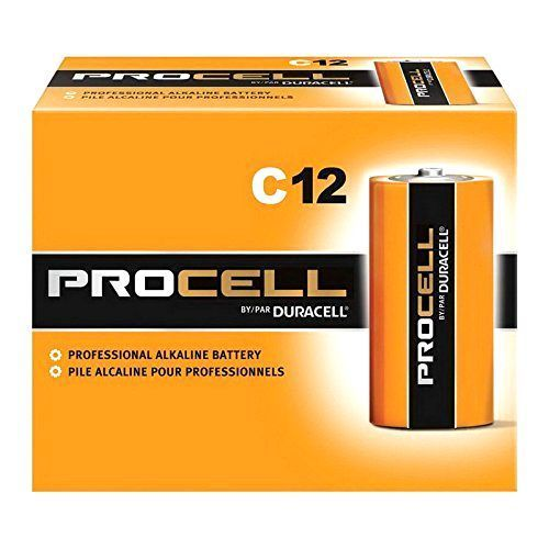 Duracell C12 Procell Professional Alkaline Battery Alkaline Power Cells 12 Count Duracell Alkaline Battery C Batteries
