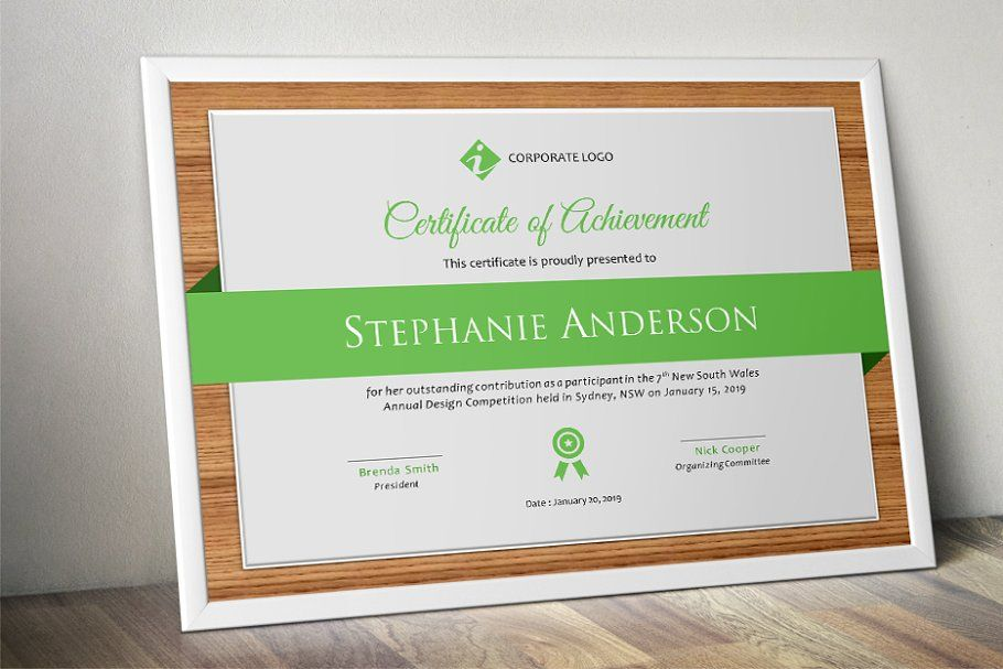 Wood Certificate Word Template Wordcertificatewoodtemplates