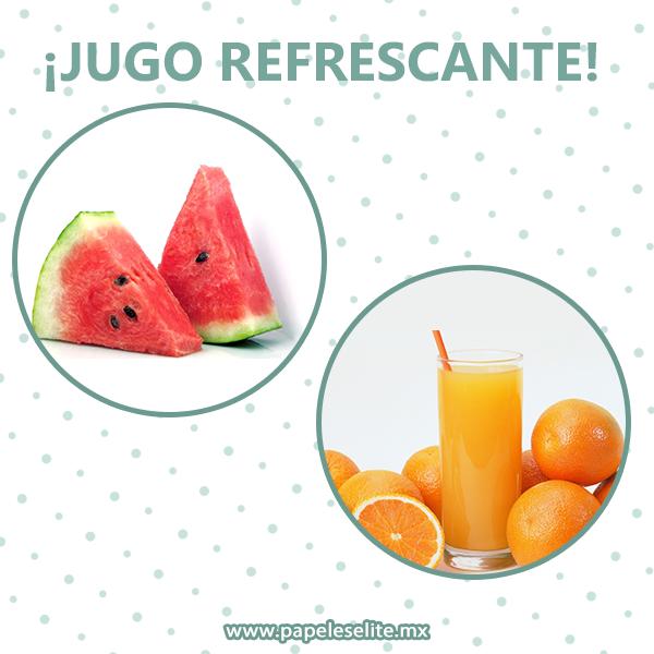 Prepara Un Jugo Refrescante De Naranja Y Sandia Para Una Tarde Calurosa Ingredientes 1 Vaso De Jugo De Recetas De Jugos Naturales Recetas De Jugos Jugos
