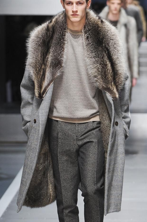 Men dress long coats