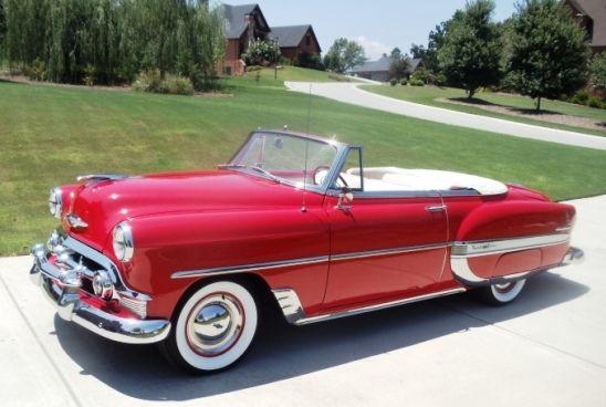 1953 Chevrolet Belair Convertible   Antique cars   Pinterest ...