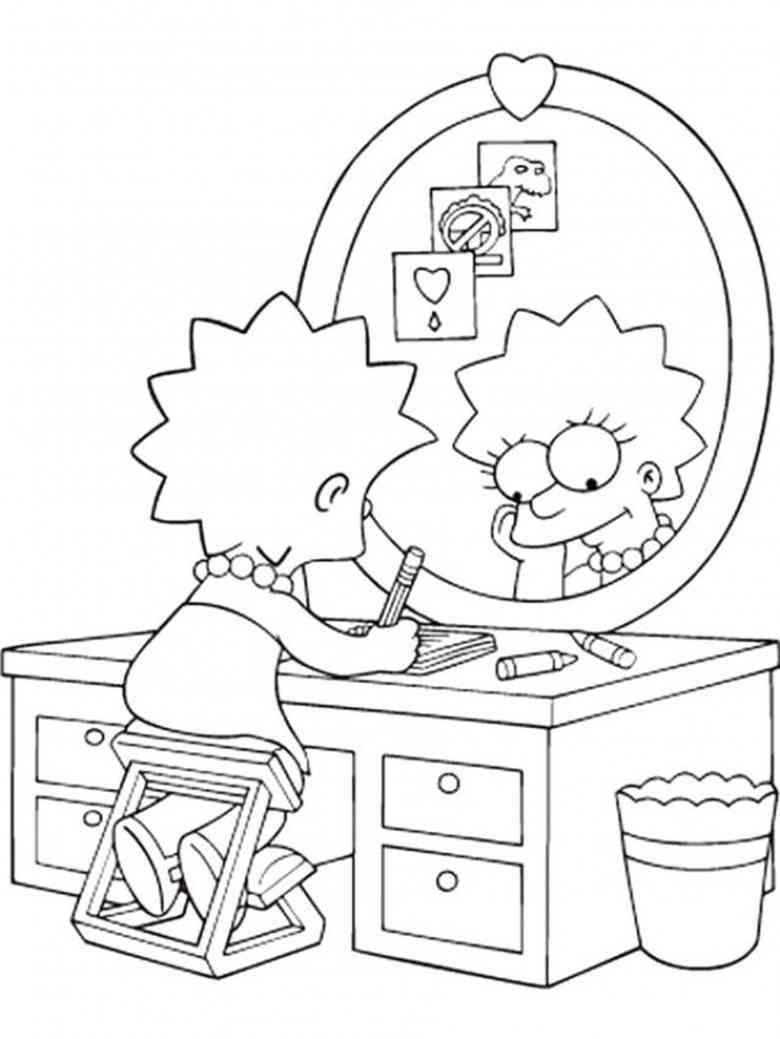 Die Simpsons 25 Ausmalbilder | Auto Hd Wallpapers | Pinterest