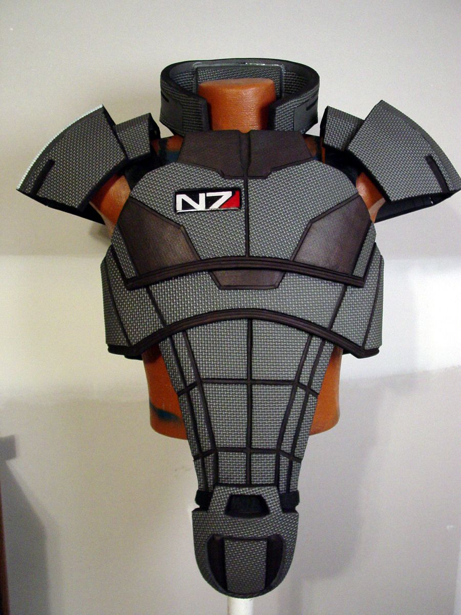 mass effect 3 n7 armor template - mass effect armor costumes cosplay and such