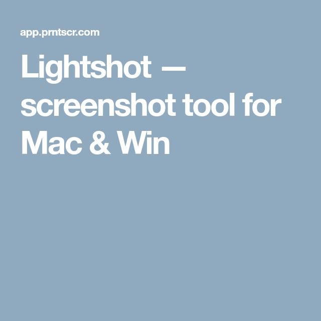 Lightshot — screenshot tool for Mac & Win | Useful Apps