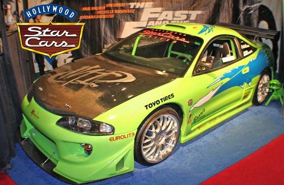 1995 Mitsubishi Eclipse Driven by Paul Walker The Fast and the ...