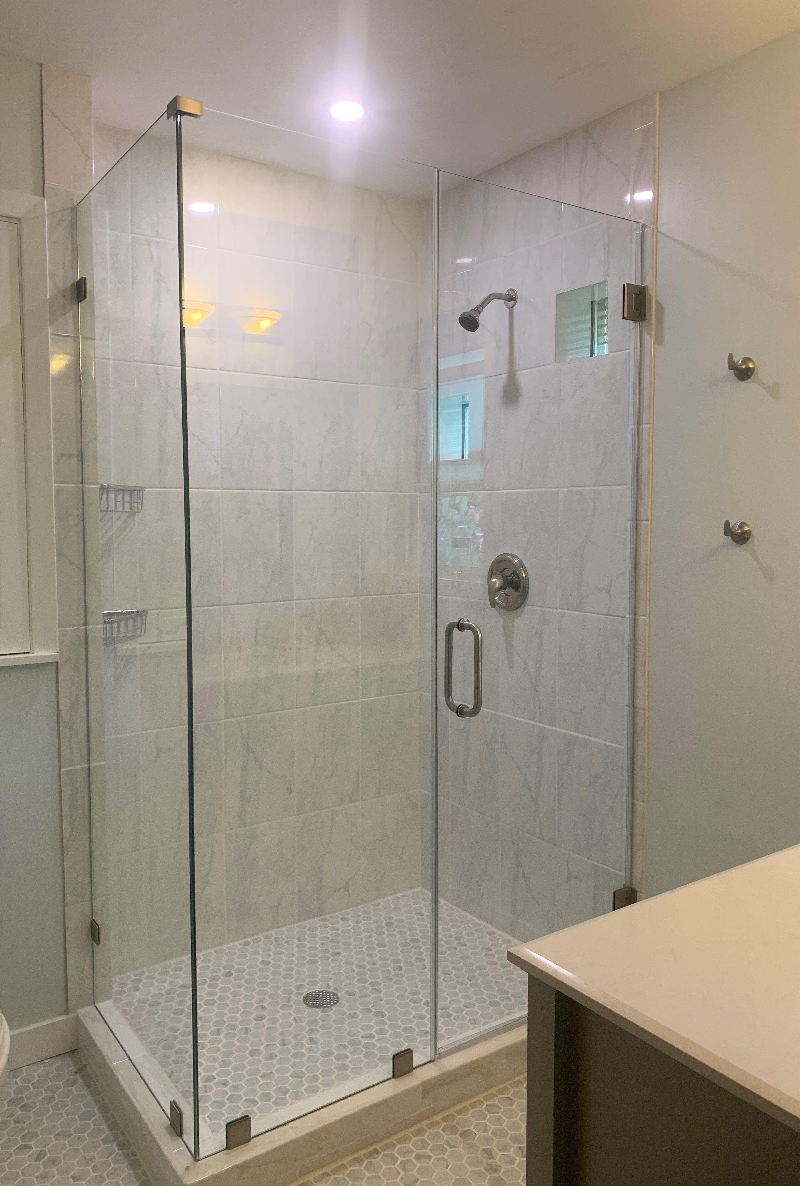 Frameless Showerguard Glass Shower Enclosure By Century Glass 3