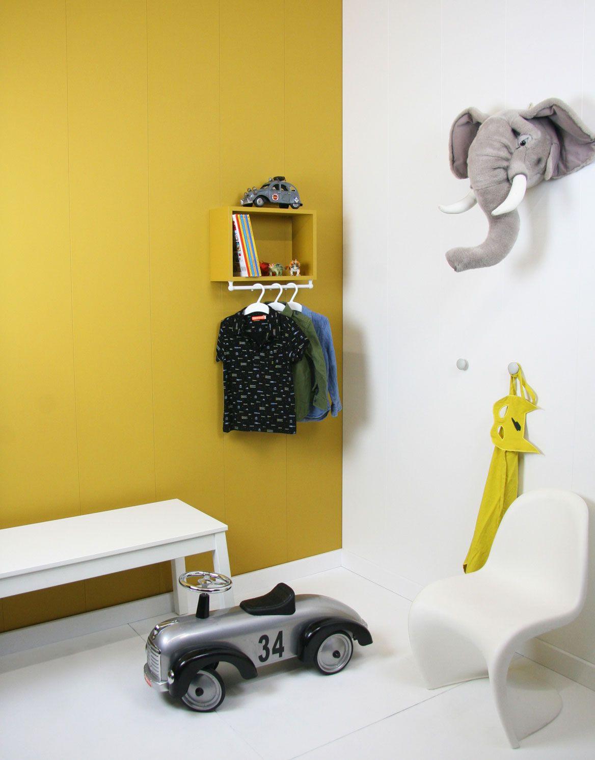 ochre gold in the childrens room | meisjes kamer | Pinterest | Room ...