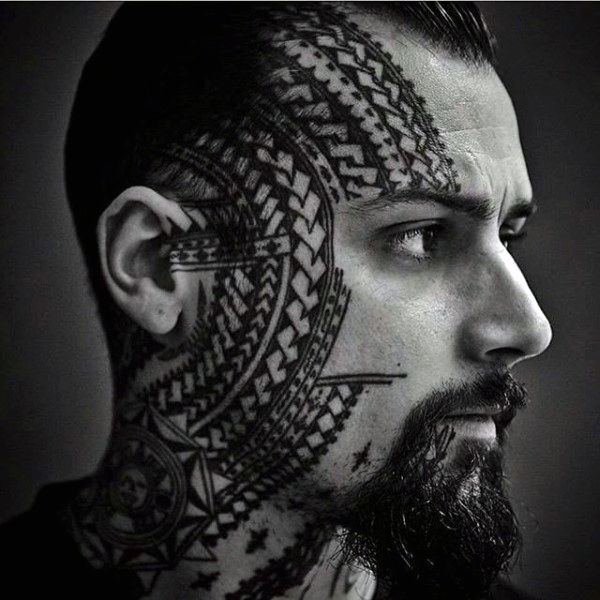 Top 90 Mind Blowing Men S Face Tattoos 2020 Inspiration Guide With Images