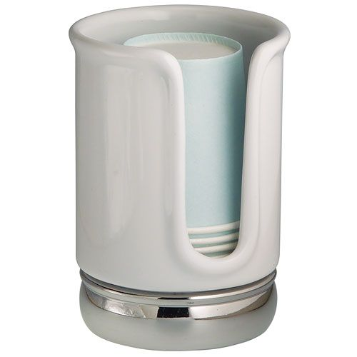 The York Bathroom Cup Dispenser Is A Great Way To Keep Your Disposable Paper Cups Dry