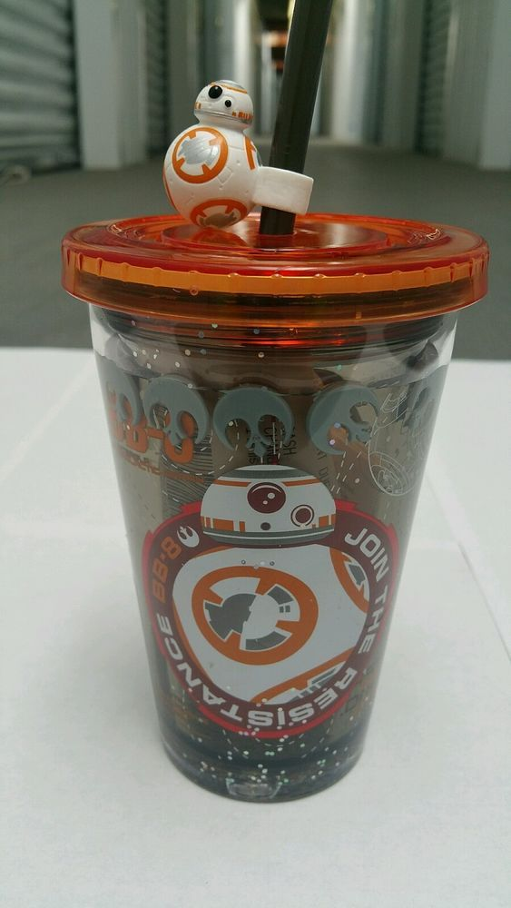 """DISNEYLAND STAR WARS NEW """"FORCE FRIDAY"""" BB-8 DROID CUP/MUG STARBUCKS $10 GC in Collectibles, Science Fiction & Horror, Star Wars 