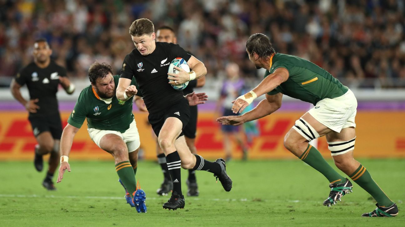 Another Chapter Writes Itself Into All Blacks Springboks Folklore All Blacks South Africa Rugby Rugby World Cup