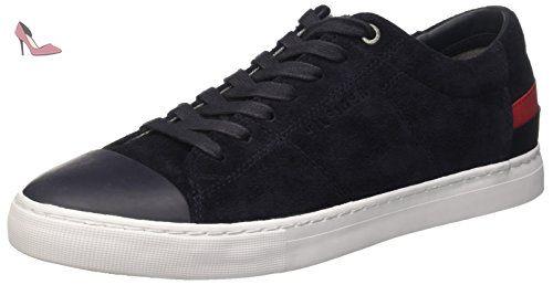 Tommy Hilfiger T2385yke 1a, Sneakers Basses Homme, Noir (Black 990), 42 EU