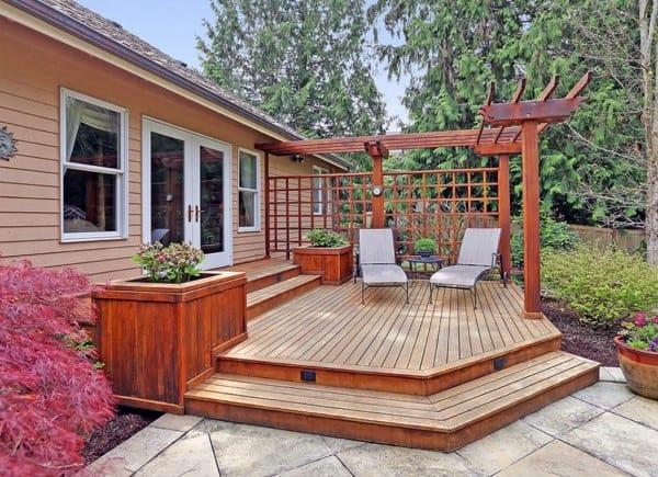 Top 60 Best Backyard Deck Ideas Wood And Composite Decking Designs In 2020 Decks Backyard Deck Designs Backyard Backyard