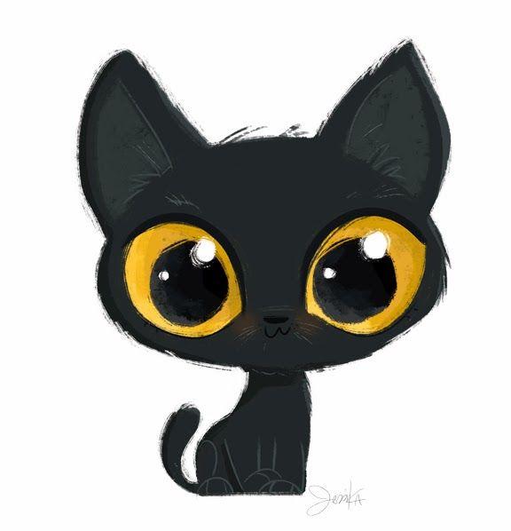 Jess von I: Evening Kitty | Cats art drawing, Cute animal ...