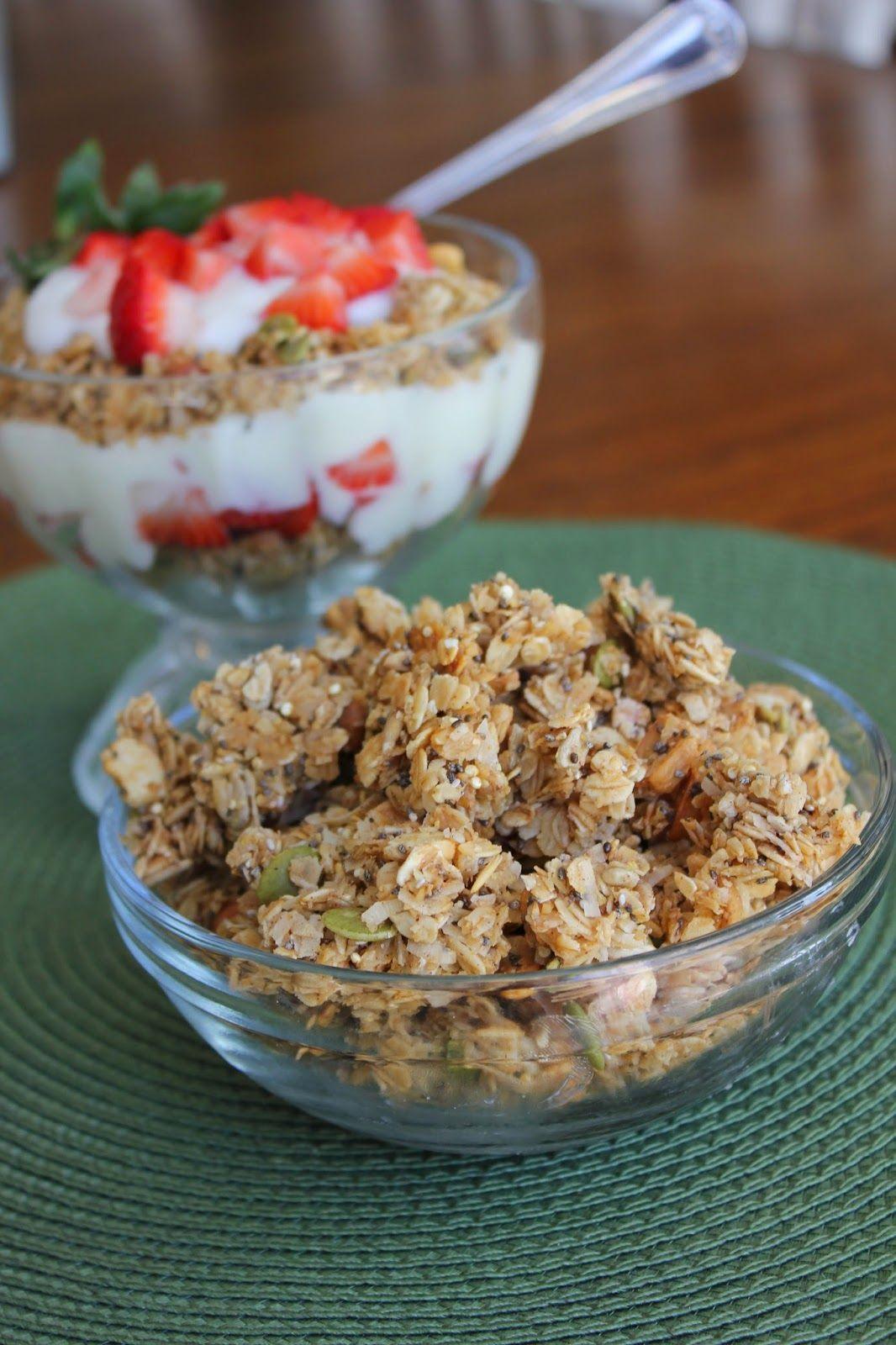 Super Healthy Granola--Chia Seeds, Flax Seed, Quinoa and ...