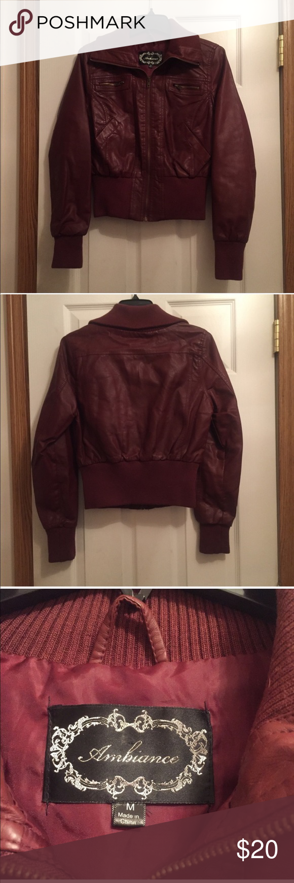 Maroon Wine Color Bomber Jacket A Ambiance Jackets Coats Maroon Bomber Jacket Bomber Jacket Jackets [ 1740 x 580 Pixel ]