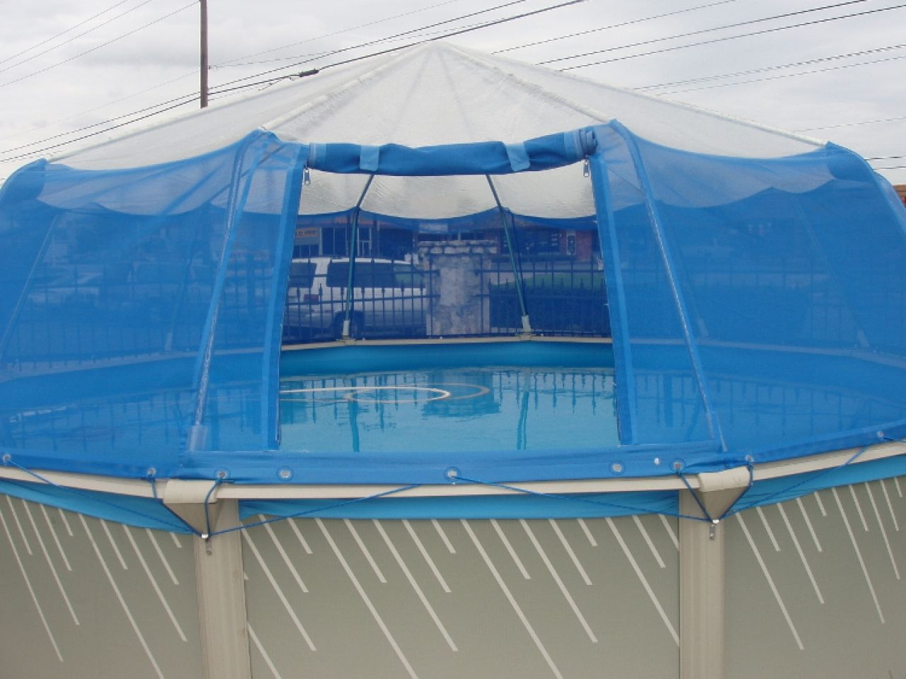These Easy To Follow Instructions Will Help You Close And Winterize An Above Ground Pool At The End Of The Swi Screened Pool Above Ground Pool Pool Landscaping
