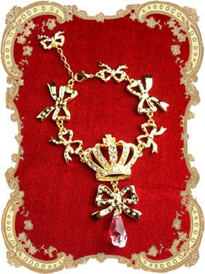 Lolibrary | Juliette et Justine - Jewelry - Couronne et Ruban Bracelet  クローンヌ エ リュバン 74-902  Price:  ¥13,125