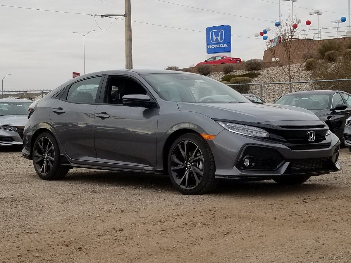 Awesome 2019 Honda Civic Hatchback Sport Touring Tire Size