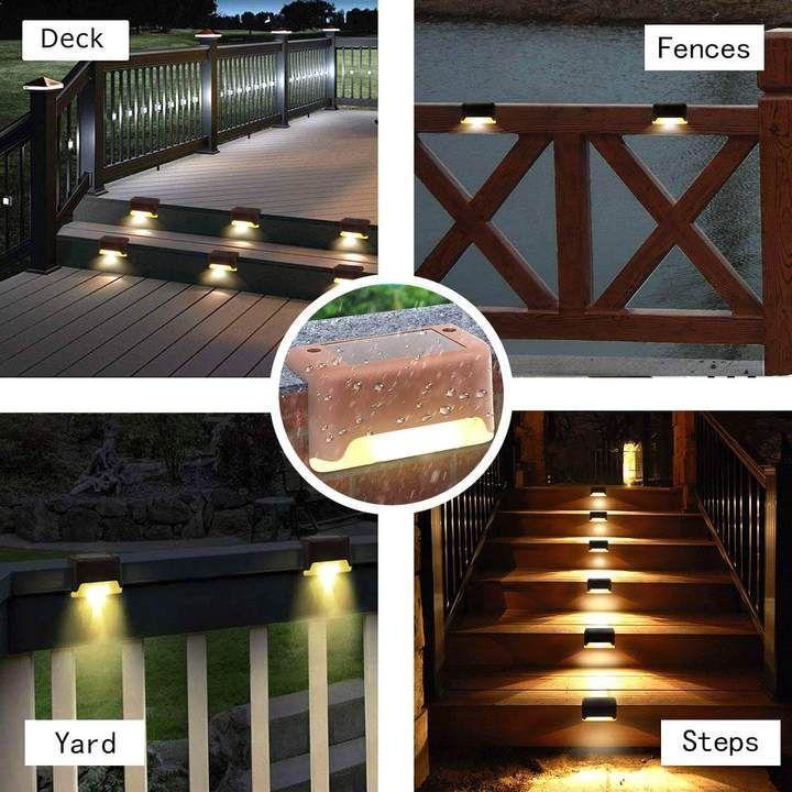 Outdoor Solar Deck Lights ( 60% Off Today ) #walkwaystofrontdoor