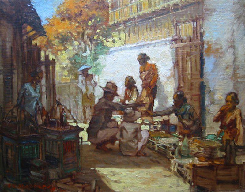 Adolfs Gerard Pieter, Markttafereeltje | Dharmakirti | Pinterest ...