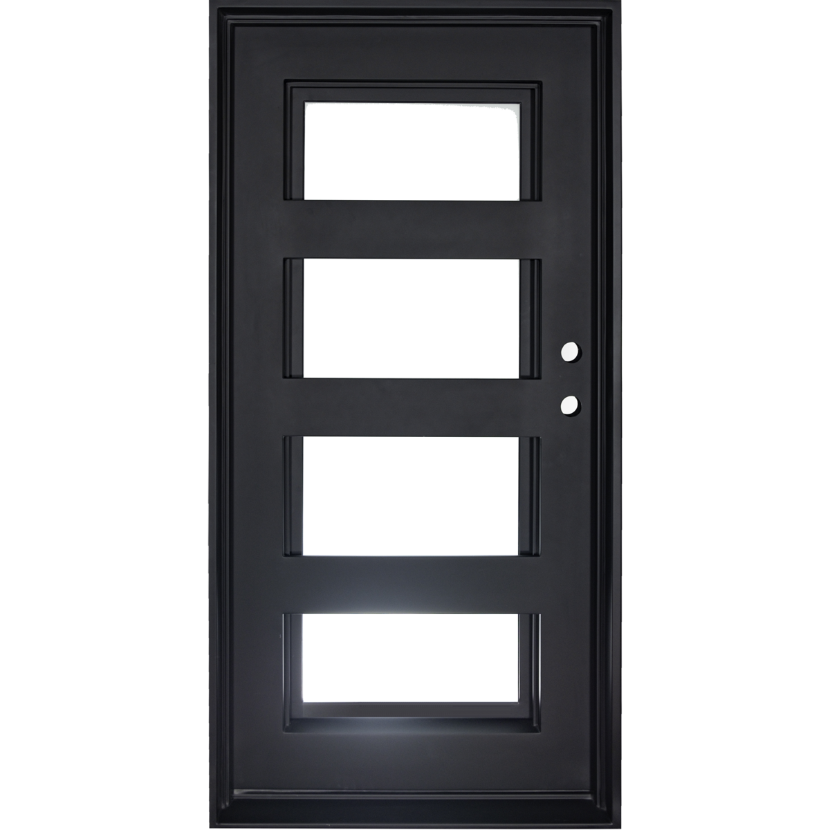 Air 19 Single Flat Wrought Iron Front Door Iron Doors Iron Door Design