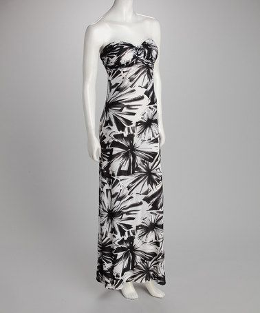 0bce6824a1fb Take a look at this Black Strapless Maxi Dress by Summer Swelter: Women's  Dresses on #zulily today!
