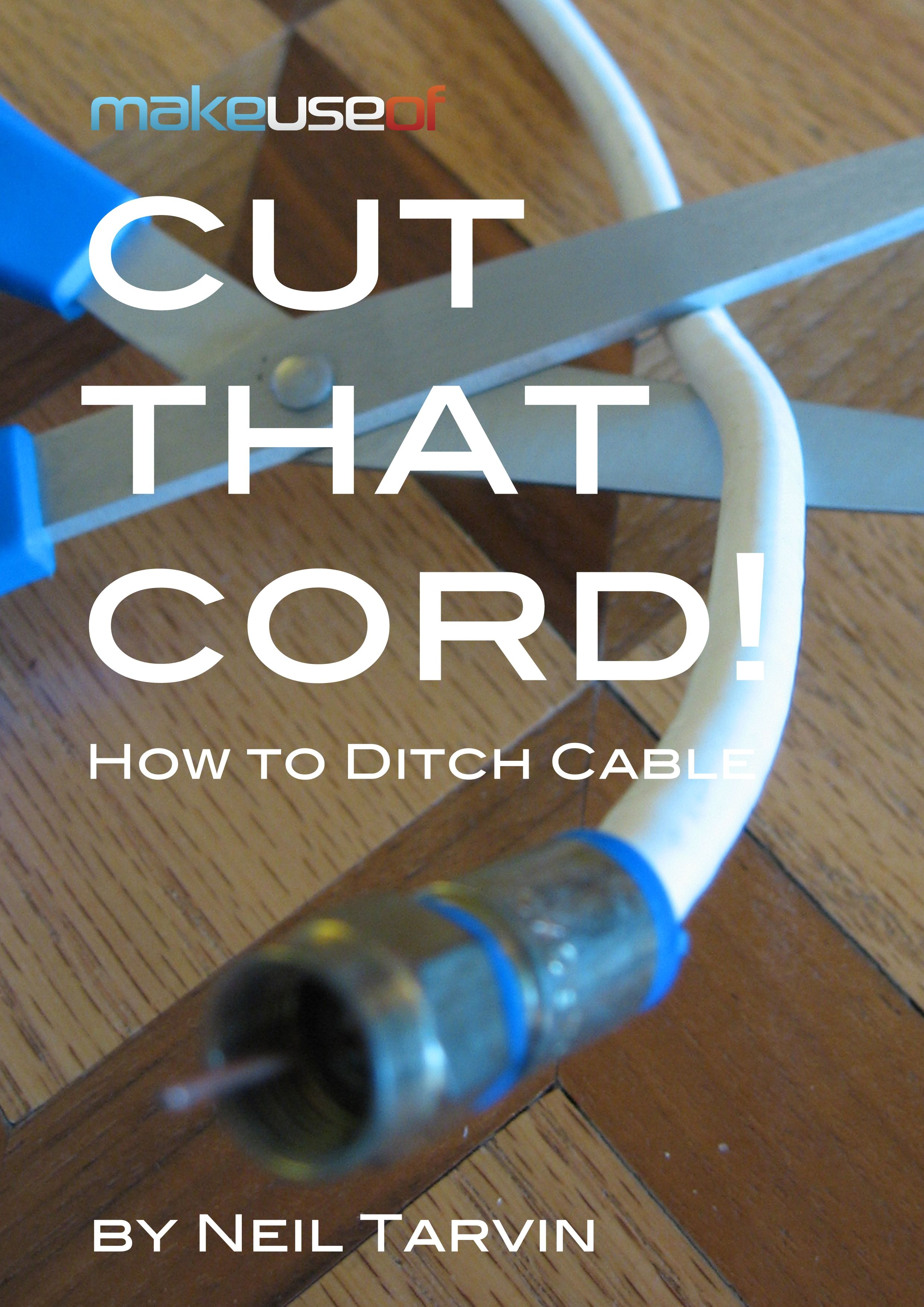 how to fix a cut cable cord