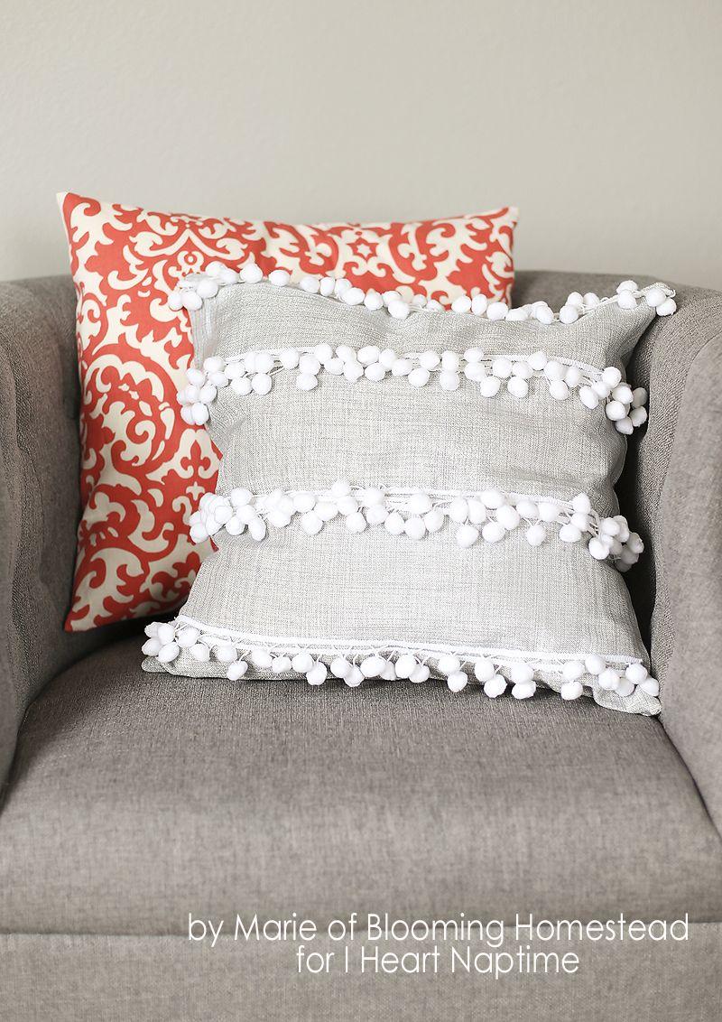 10 Diy Throw Pillow Ideas Diy Throw Pillows No Sew Pillow Covers Diy Pillows