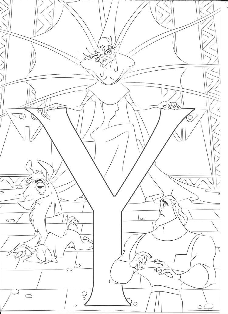 Disney Disney coloring pages Abc coloring pages