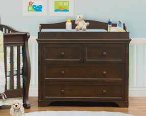 Nice Devon Brown Crib By CafeKid.com Found At Costco. All Inclusive Conversion  Crib · Changing Table ...