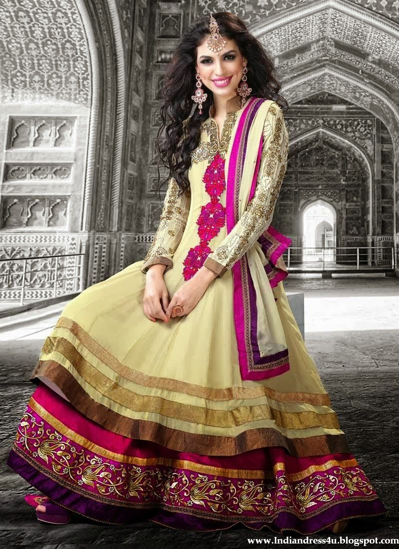 Long designer wedding anarkali dress indian u pakistani dresses