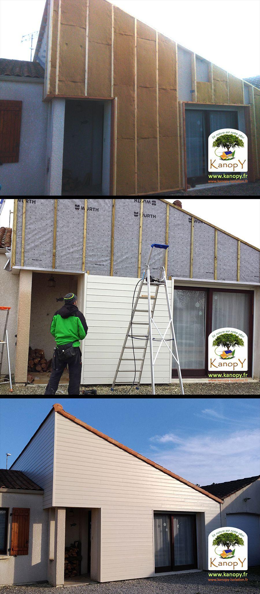 Maison Peinte En Blanc Exterieur isolation thermique par l'extérieur à puilboreau (17