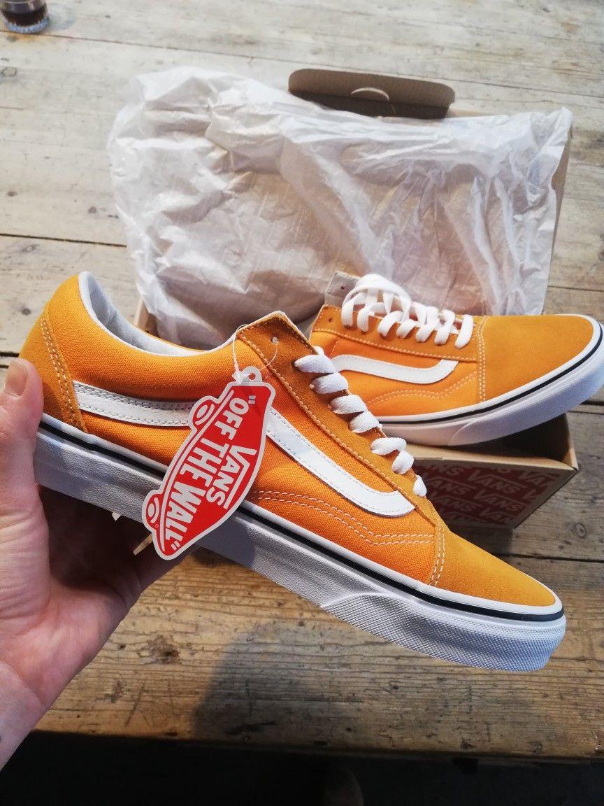 off the wall | Yellow vans, Orange vans