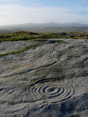 Northumberland Rock Art, UK circa 5000 years BC