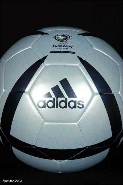 Adidas Roteiro Euro 2004 Portugal Official Ball   Euro 2004 ... 00c6b146653