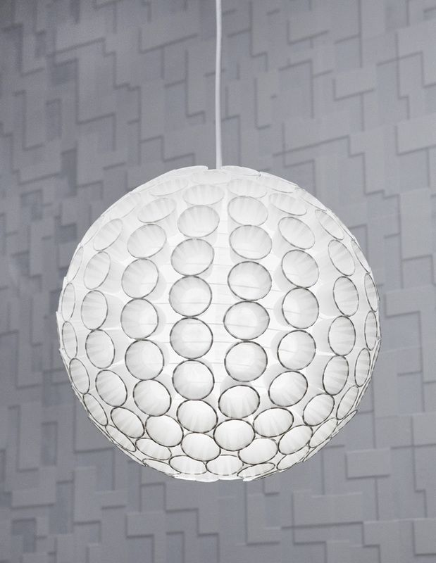 Charmant Paper Cup Pendant Light Shade : Ketchup Cups Glued Onto A Paper Lantern!  Looks Super Cool And Expensive, No One Needs To Know That Itu0027s DIY!