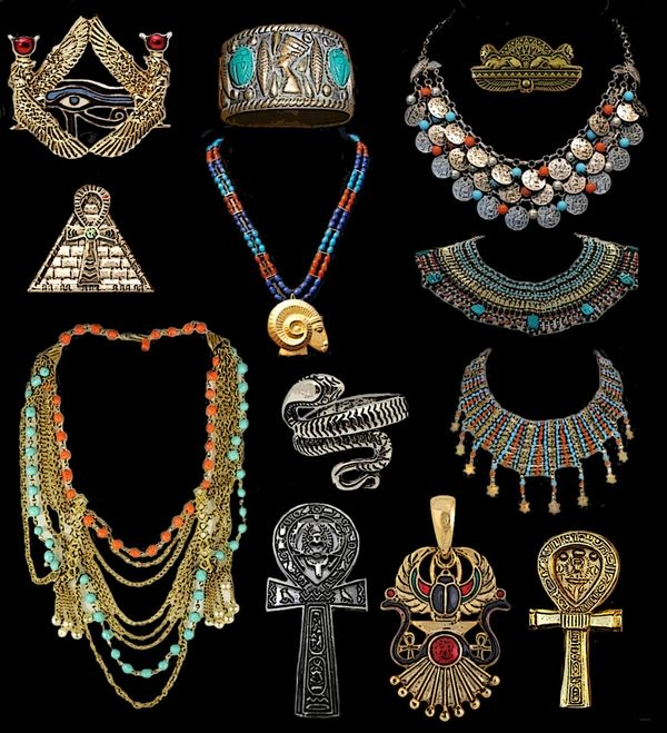 Jewelry craft ideas tumblr_m2kynm4npT1qzv83io1_r1_1280.jpg 600×659 pixels |  Ancient egyptian jewelry, Egyptian jewelry, Egypt jewelry