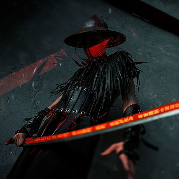 Cyber Samurai On Behance Samurai Art Samurai Photography Samurai Wallpaper