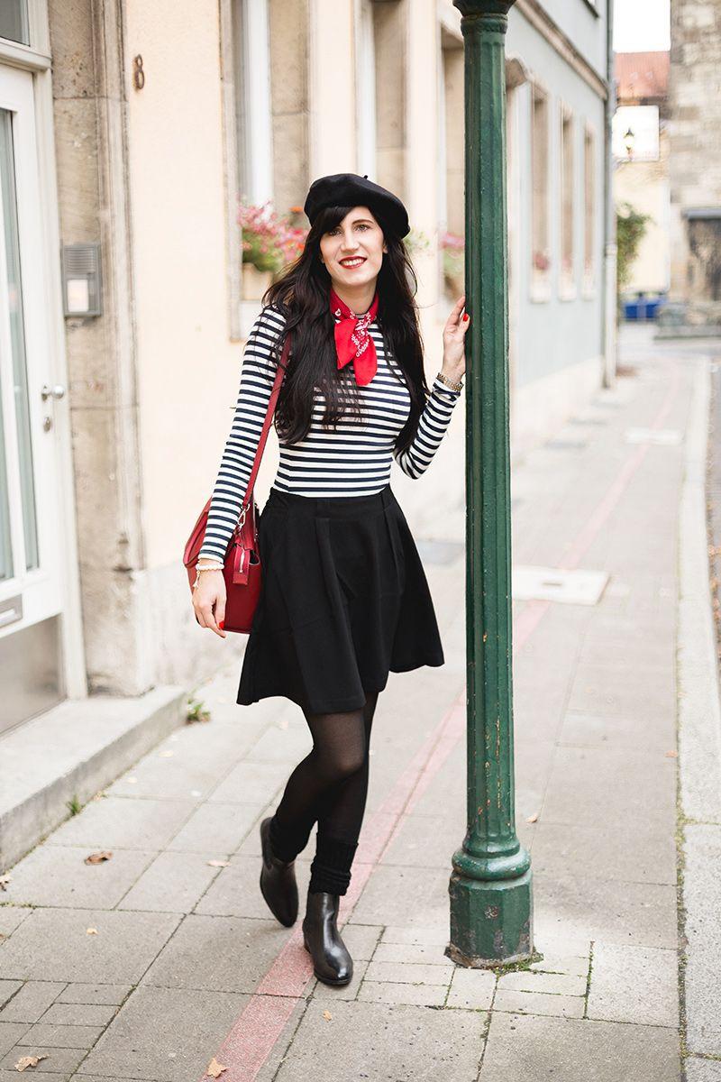 Typisch Französisch Kleidung