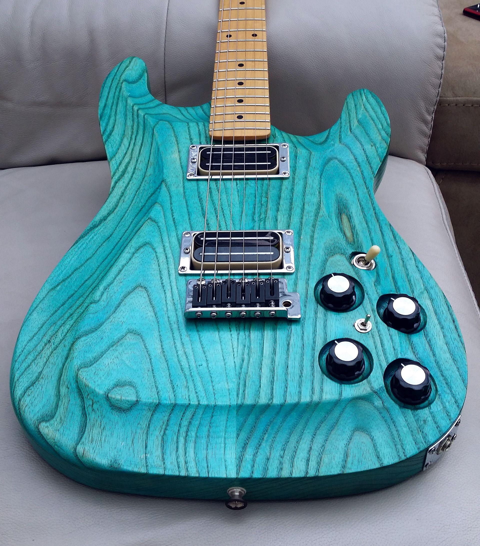 Finishing diy kits wudtone custom guitar innovation