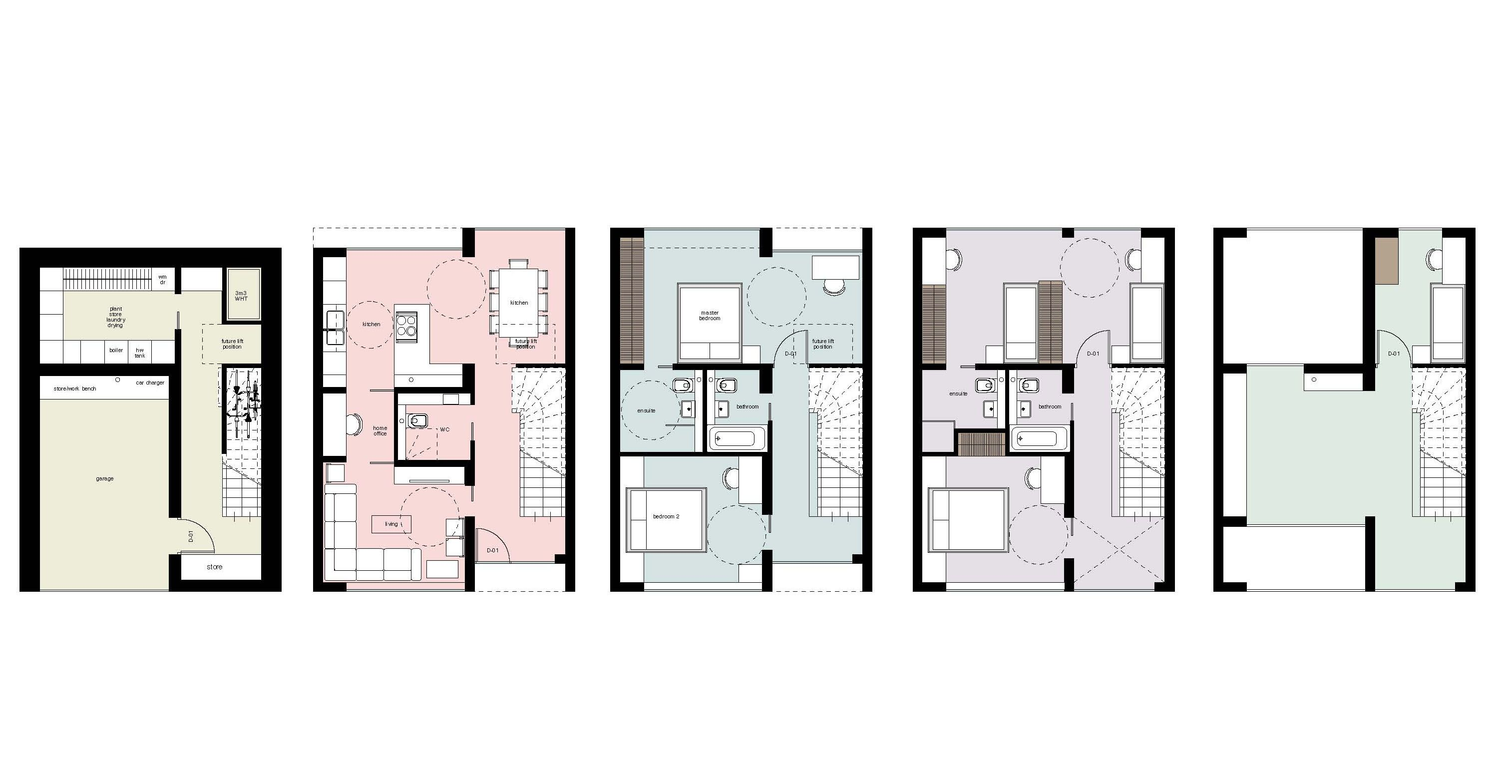 tomorrows townhouse concept and masterplan - Nicolas Tye Architects