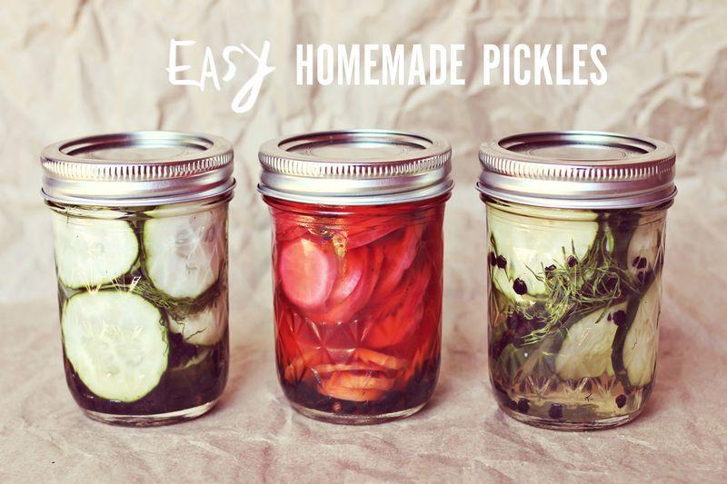 Easy Homemade Pickles Recipe