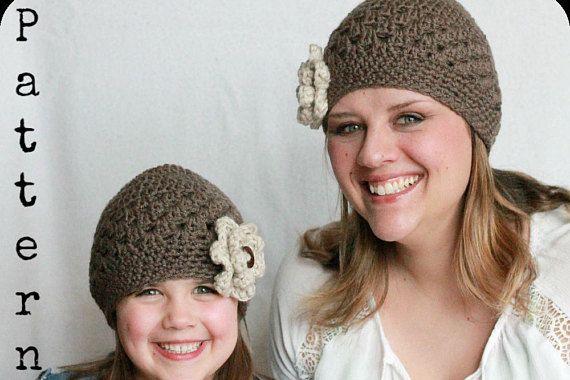 7c435e7ae3d Crochet Hat Pattern Mommy and Me Crochet Hat Pattern