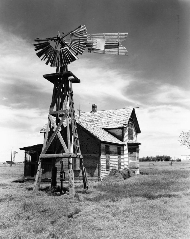 Windmill And Farmhouse Farm Windmill Windmill Windmill Water
